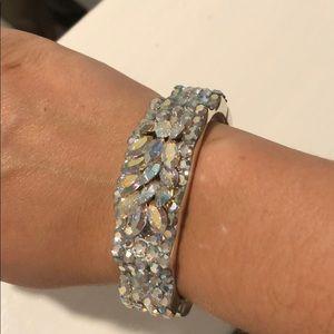 Custom swarovski crystals bracelet